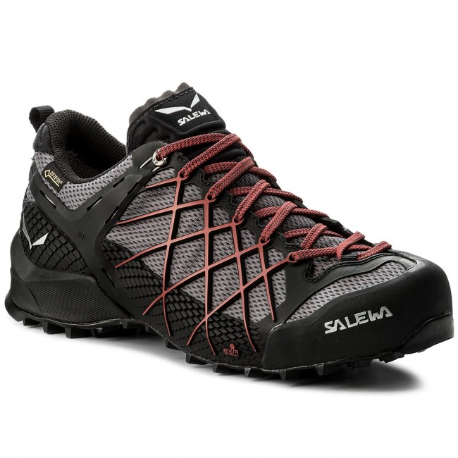 Trekkingschuhe SALEWA-Wildfire Gtx GORE-TEX 63487-0979 Black Out/Bergot