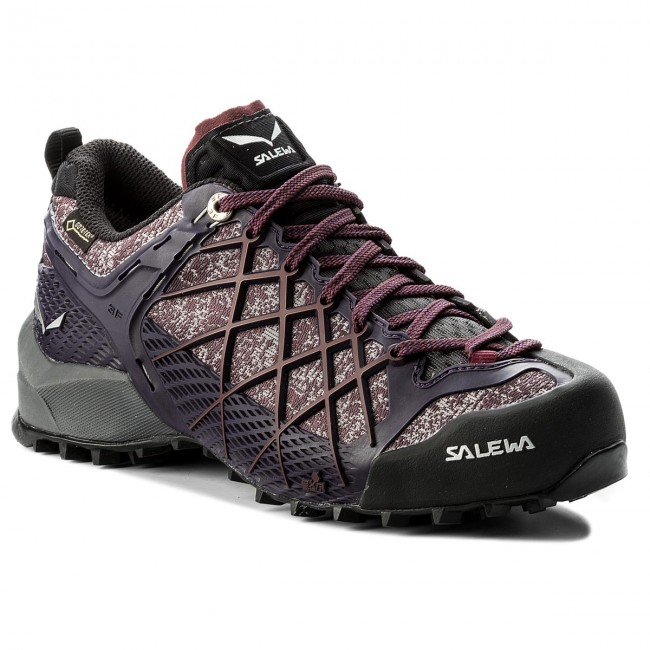 Trekkingschuhe SALEWA Wildfire Gtx GORE-TEX 63488-0917 Black/Purple 0917