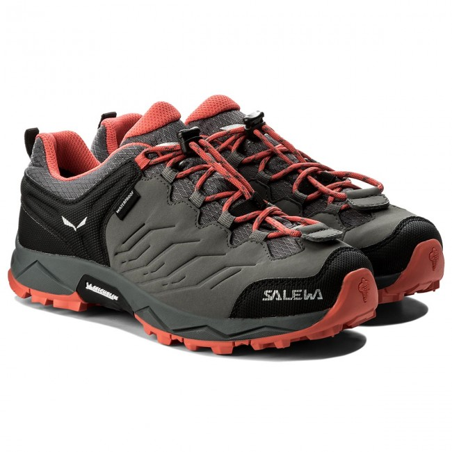 Trekkingschuhe SALEWA                                                      Mtn Trainer Wp 64008-0533 Quiet Shade/Hot Coral 94c95c