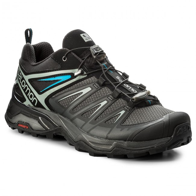 Trekkingschuhe SALOMON-X Ultra 3 402862 27 M0 Phantom/Black/Hawaiian Surf