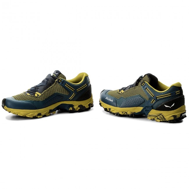 Trekkingschuhe Train SALEWA-Ultra Train Trekkingschuhe 2 64421-0960 Night Black/Kamille 25be71