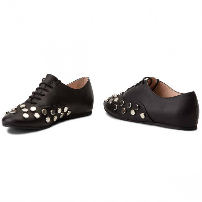 Damenschuhe Halbschuhe Oxfords Oxfords Oxfords Oxfords L37 - Rock Mini S29 Schwarz e6a296