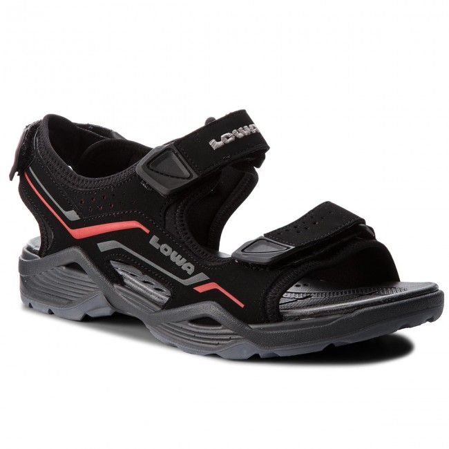 Sandalen LOWA-Duralto Trail 410380  Black/Red 9901