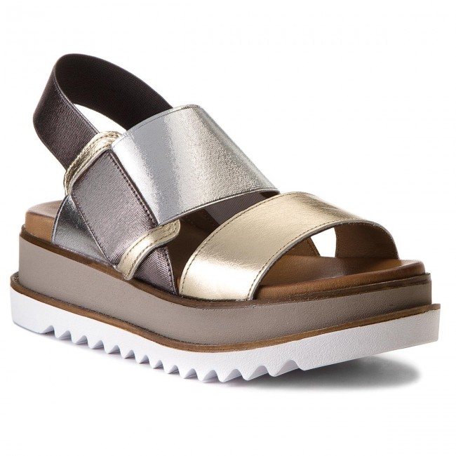 Sandalen INUOVO                                                      8928 Gold/Silver/Pewter 6250c0