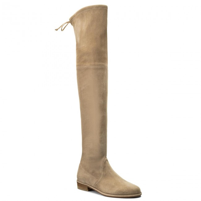 Overknees STUART WEITZMAN-Lowland XL92906 Mojave Mojave Mojave Suede Werbe Schuhe 8d7898