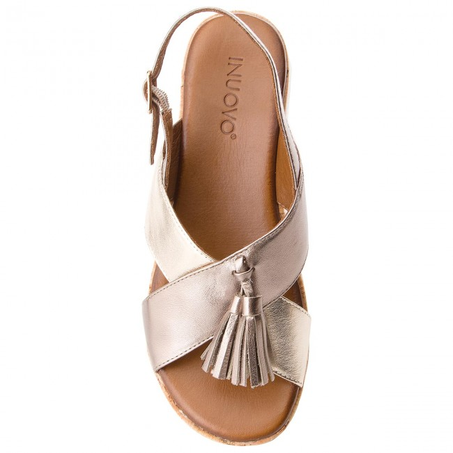 Sandalen INUOVO-8977  Pewter/Gold Werbe Schuhe 8dc264