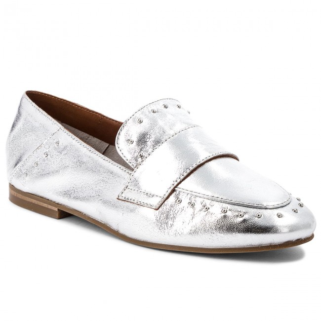 Lords Schuhe INUOVO 9076 Silver Hohe Qualität