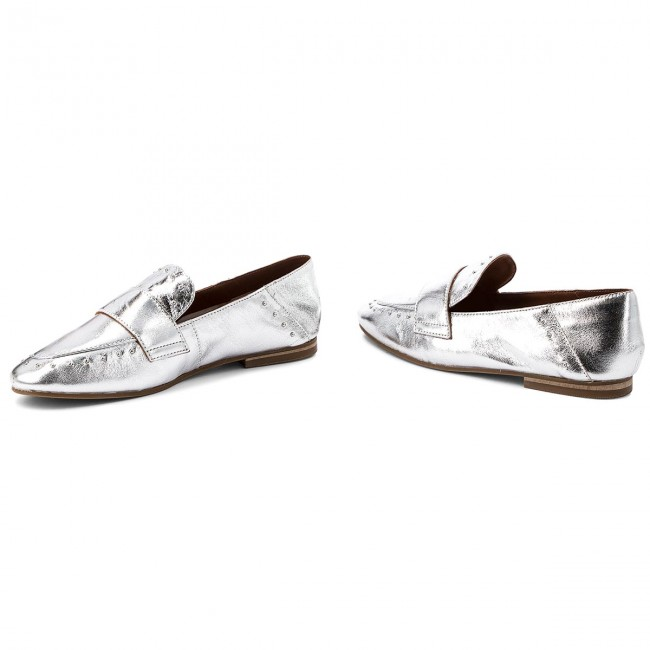 Lords Schuhe INUOVO - 9076 Silver Z7jrE9pcJs