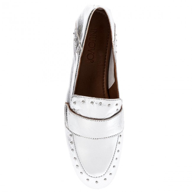 Lords Schuhe INUOVO - 9076 Silver dfHKPiic