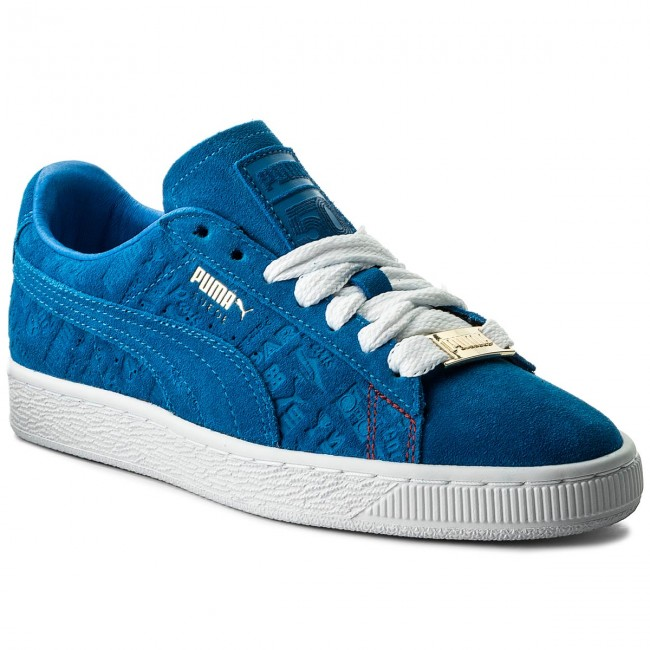 Sneakers PUMA-Suede Classic Paris 366298 01 Electric Blue Lemonade Werbe Schuhe