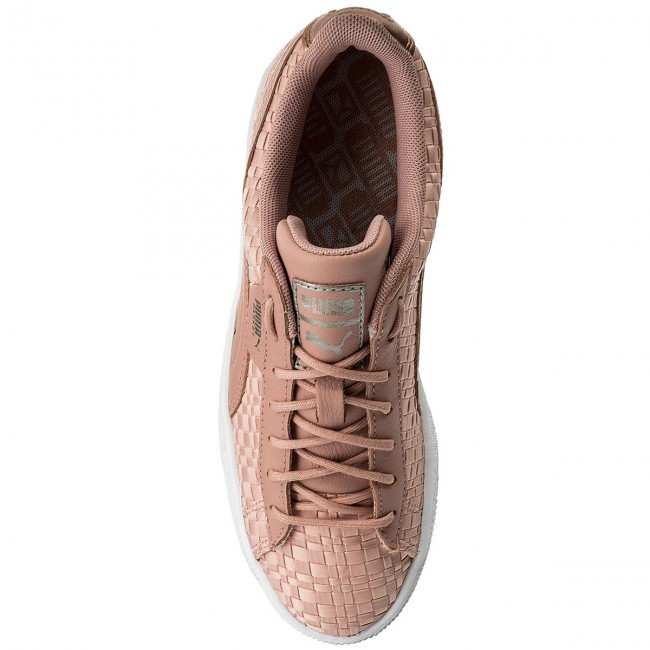 Sneakers PUMA                                                      Basket Satin Ep 365915 01 Peach Beige/Puma White e184e5
