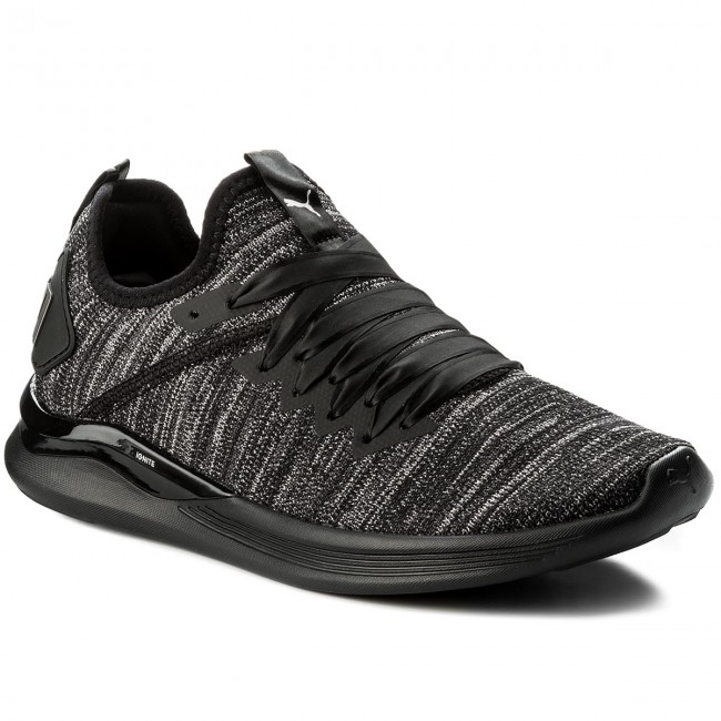 Schuhe PUMA                                                      Ignite Flash EvoKnit S Ep Wn 190959 01 schwarz/Periscope/Metal Beige 8558c3
