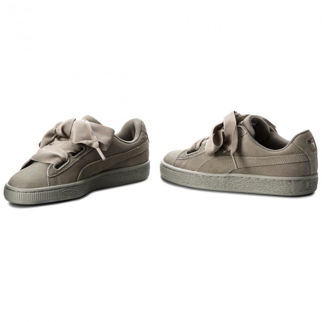 Sneakers PUMA                                                      Suede Heart Pebble Wn's 365210 02 Rock Ridge/Rock Ridge 610a75