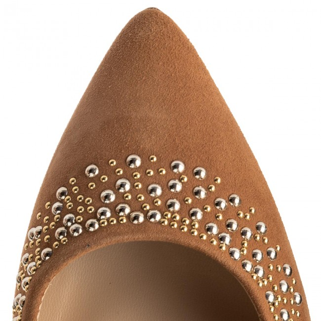 High Heels Cuoio SOLO FEMME  34285-A7-H48/000-04-00 Cuoio Heels 12411d