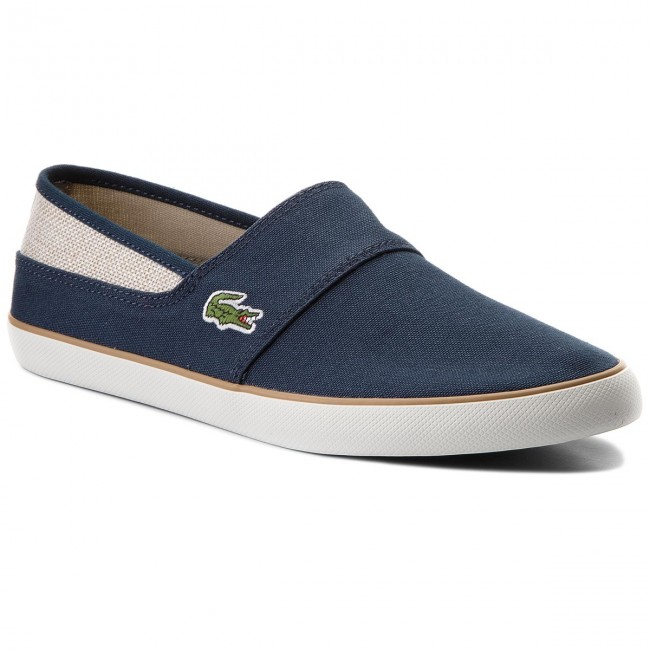 Turnschuhe LACOSTE-Marice 218 1 CAM Nvy/Nat 7-35CAM007767F Nvy/Nat CAM b58299