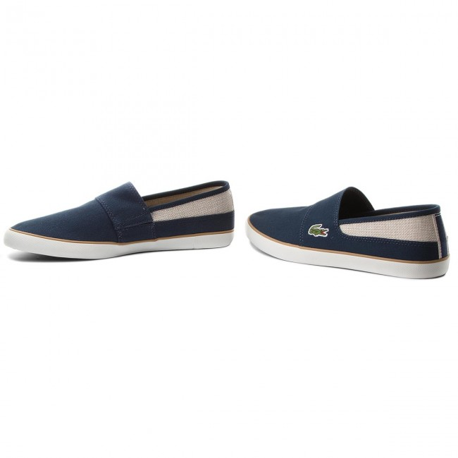 Turnschuhe LACOSTE-Marice 1 218 1 LACOSTE-Marice CAM 7-35CAM007767F Nvy/Nat 661057