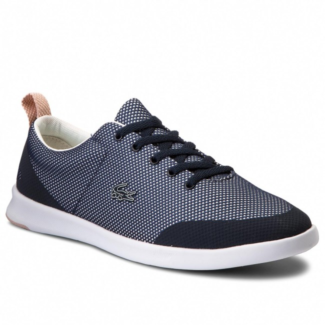 Turnschuhe LACOSTE-Avenir 218 Werbe 1 Spw 7-35SPW00036NO5 Nvy/Off Wht/Nat Werbe 218 Schuhe 649301