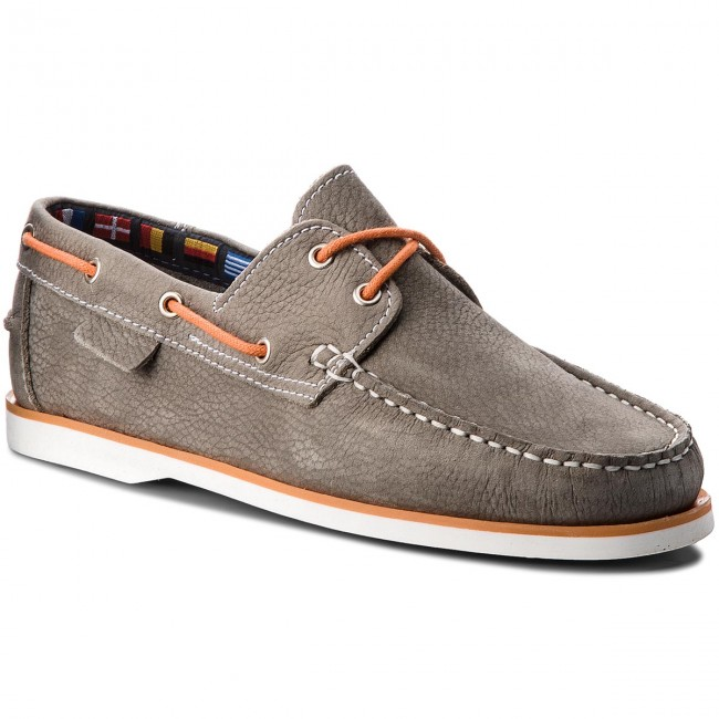 Halbschuhe LA MARINE-Catamaran Grey Orange