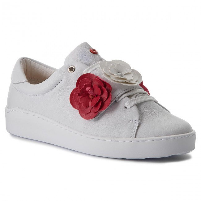 Sneakers NOBRAND                                                    Cherry 13609 White/White/Red