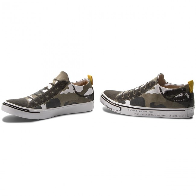 Turnschuhe DIESEL-S-Imaginee Low Slip-On Y01700 P1640 H5254 Military Military Military Camou bc93b6