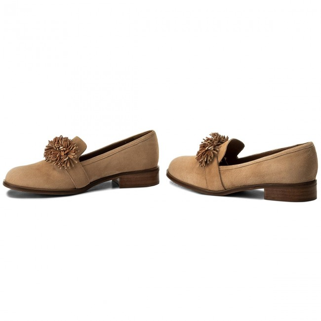 Lords  Schuhe SOLO FEMME   Lords                                                  96613-05-H47/H48-03-00 Beż 93abc7