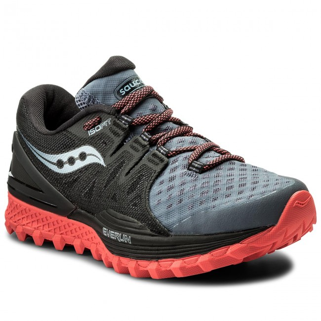Schuhe SAUCONY Xodus Iso 2 S10387-5 Gry/Blk/Vizi Red