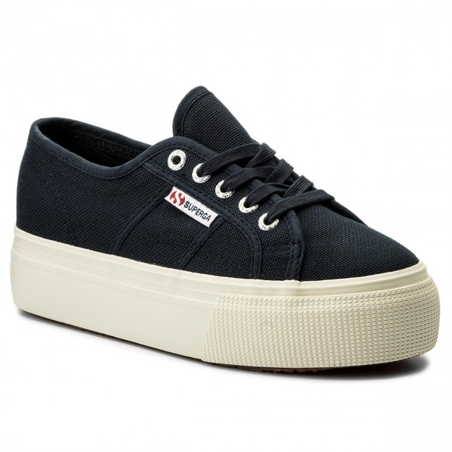 Turnschuhe SUPERGA 2790 Acotw Linea Up And Down S0001L0 Navy 933