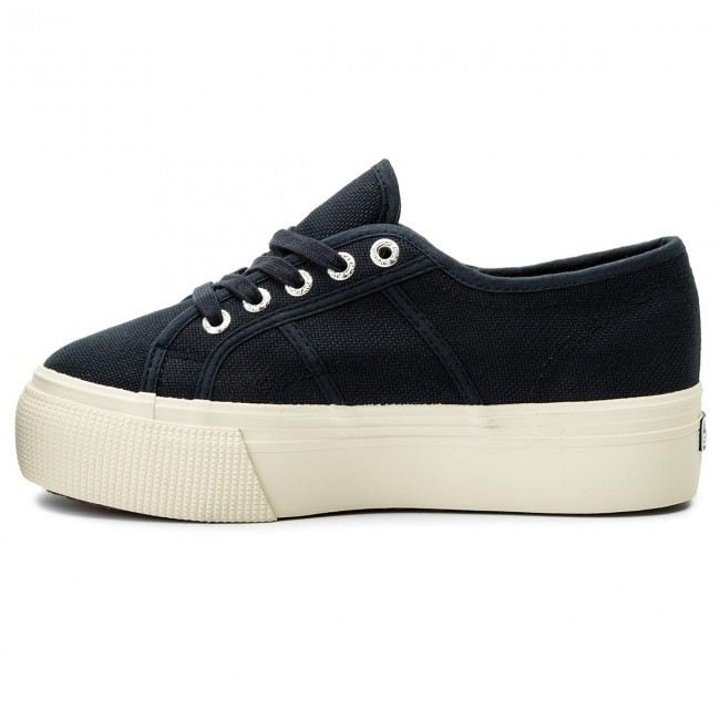 Turnschuhe SUPERGA - 2790 Acotw Linea Up And Down S0001L0 Navy 933 5jqJA