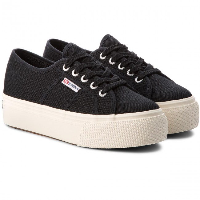 Turnschuhe SUPERGA       SUPERGA                                               2790 Acotw Linea Up And Down S0001L0 schwarz 0637a1