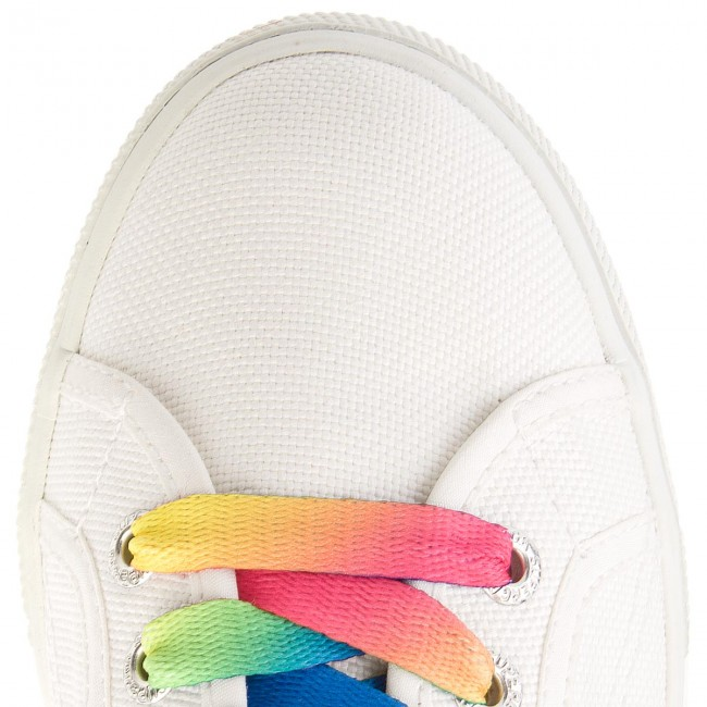 Turnschuhe SUPERGA                                                      2790 Cotw Multicolors Outsole S00DPY0 Weiß 901 7f14f8