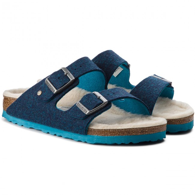 Hausschuhe BIRKENSTOCK                                                      Arizona Rivet 1012430 Double Blue b0bb55
