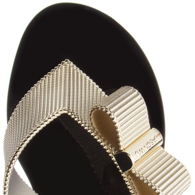 Zehentrenner MELISSA Girl Chrome + Jason Wu 32386 Black/Gold 50919