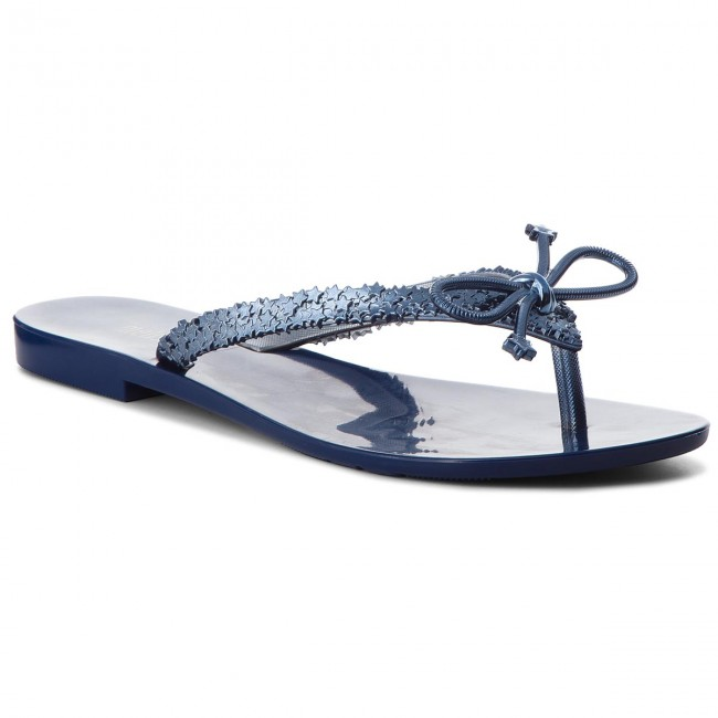Zehentrenner MELISSA-Harmonic Elements Ad 32392 Blue/Metalized Blue 53338 Werbe Schuhe