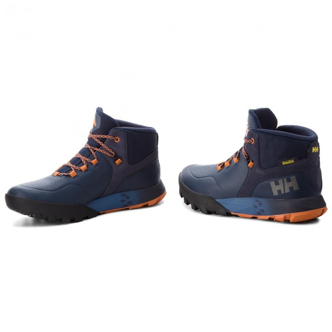 Trekkingschuhe HELLY HANSEN-Loke Rambler Blau/Burnt Ht 114-02.689 Evening Blau/Marine Blau/Burnt Rambler Orange aebfeb