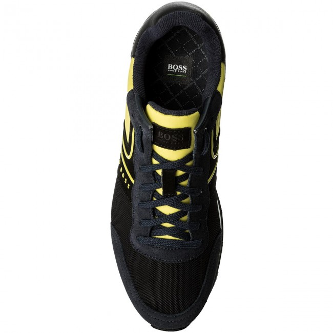 Sneakers Open BOSS-Parkour 50317133 10191435 01 Open Sneakers Yellow 758 9f6e82