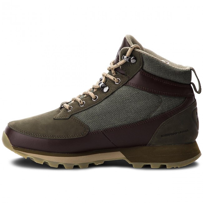 Trekkingschuhe HELLY HANSEN                                                      W Chilcotin 114-28.489 Forest Night/Warm Espresso/Ivy Grün 558013