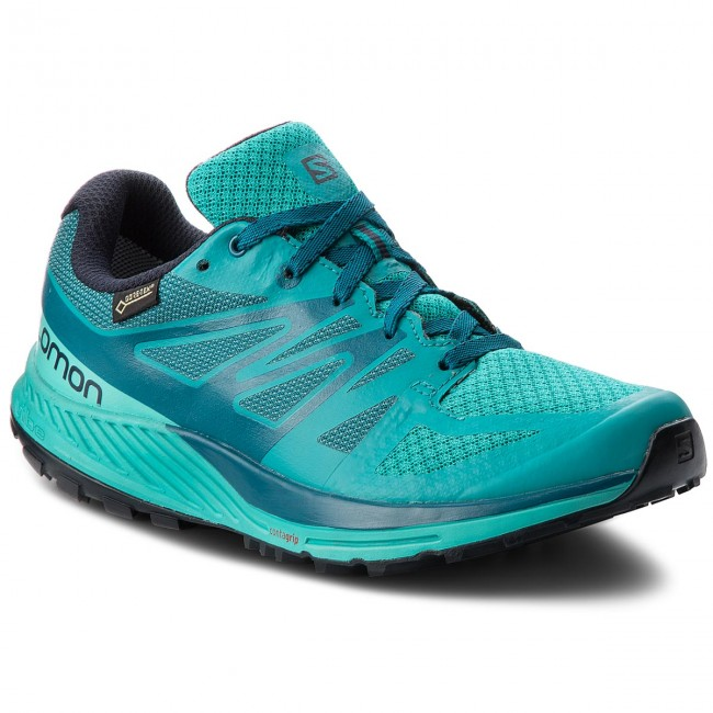 Schuhe SALOMON                                                    Sense Escape Gtx W GORE-TEX 402353 21 W0 Tropical Green/Atlantis/Deep Lagon