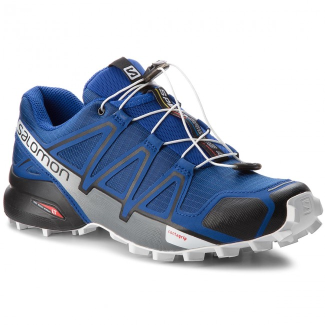 Schuhe SALOMON-Speedcross 4 404641 27 V0 Mazarine Blue Wil/Black/White