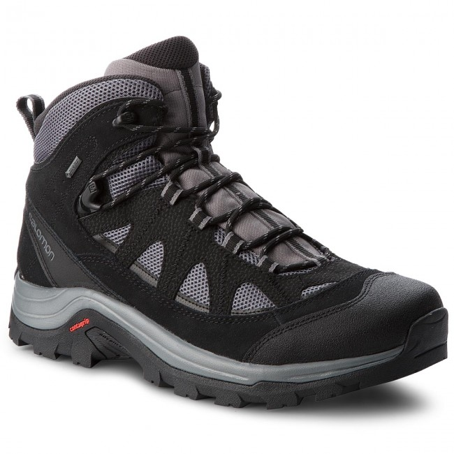 Trekkingschuhe SALOMON-Authentic Ltr Gtx GORE-TEX 404643 33 V0 Magnet/Black/Quiet Shade