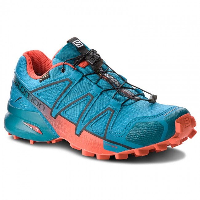 Schuhe SALOMON-Speedcross 4 Gtx GORE-TEX 404665 27 G0  Fjord Blue/Cherry Tomato/Black