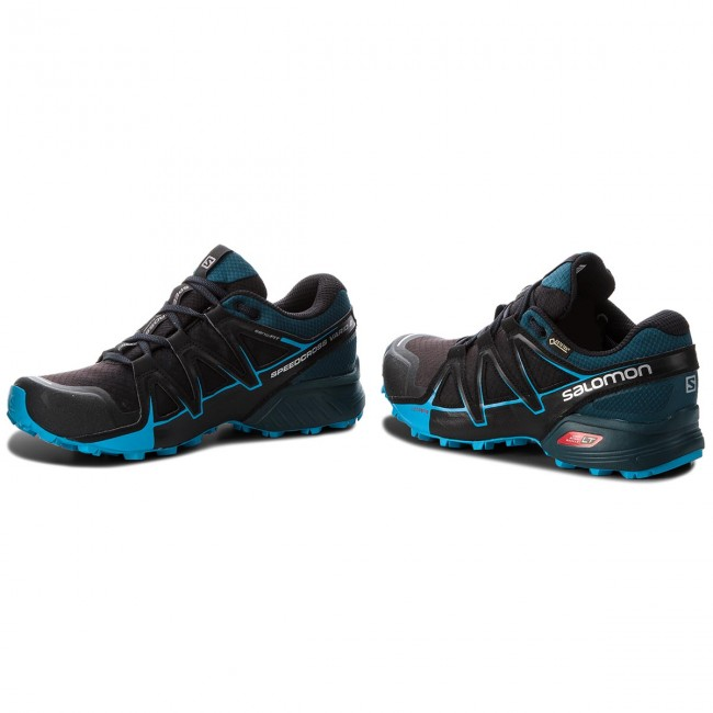 Schuhe SALOMON-Speedcross Vario 2 V0 Gtx GORE-TEX 404673 27 V0 2 schwarz/Reflecting Pond/Hawaiian Surf 784421
