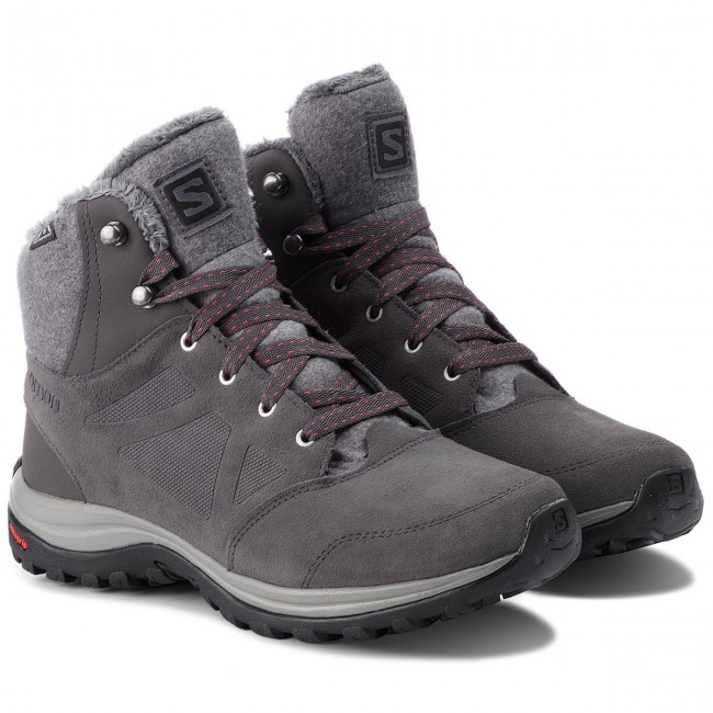 Trekkingschuhe SALOMON       SALOMON                                               Ellipse Freeze Cs Wp 404697 23 V0 Magnet/Quiet Shade/ Hibiscus f39ebb