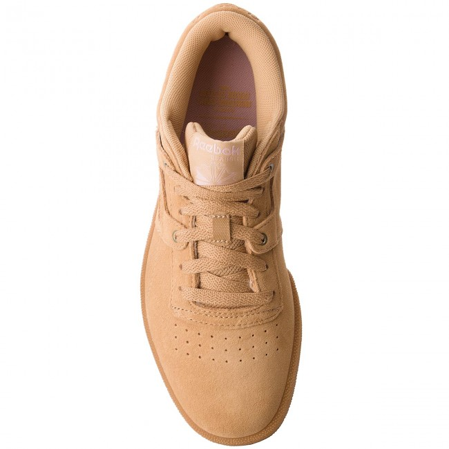 Schuhe Workout Reebok-Club Workout Schuhe Mu CN3863 Beige/Baby Skin/Gum f23684