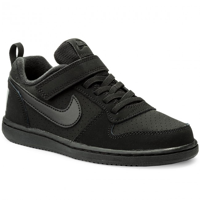 04f13e14732e5b Schuhe NIKE - Court Borough Low (PSV) 870025 001 Black Black ...