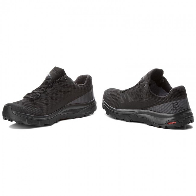 68d2b67b74e5 Trekkingschuhe SALOMON - Outline Gtx GORE-TEX 404770 29 V0 Black Phantom  Magnet