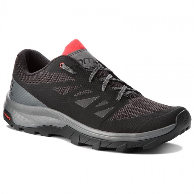 90dc8a7f5e5e Trekkingschuhe SALOMON - Outline 404775 30 M0 Black Quiet Shade High Risk  Red