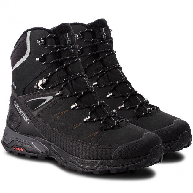 Trekkingschuhe SALOMON-X Ultra Winter Cs Wp schwarz/Phantom/Monument 2 404794 31 V0 schwarz/Phantom/Monument Wp 1a2ec1