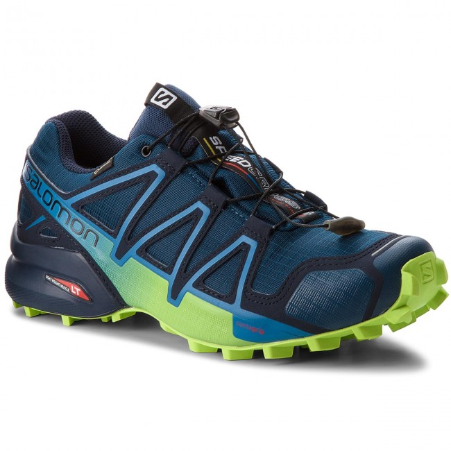 Schuhe SALOMON-Speedcross Blazer/Lime 4 Gtx GORE-TEX 404923 27 G0 Poseidon/Navy Blazer/Lime SALOMON-Speedcross Green 4815c9