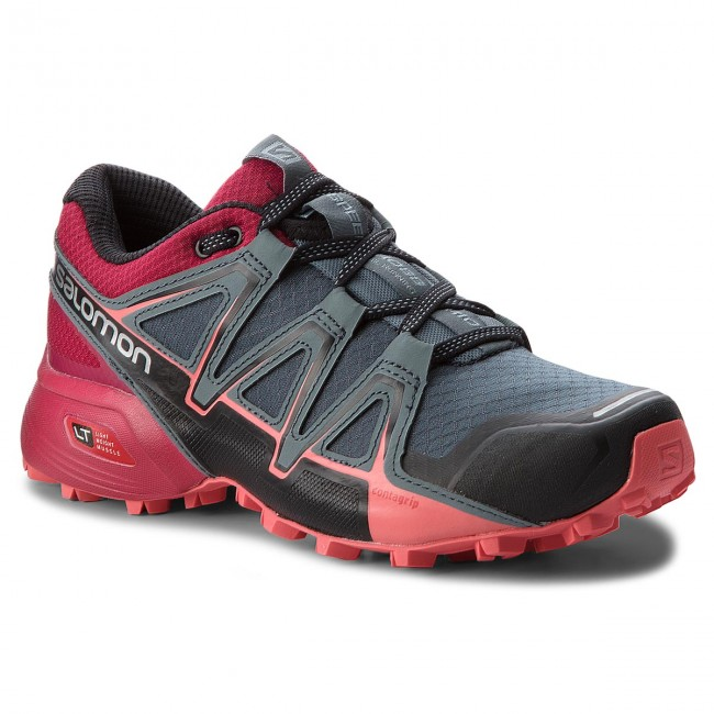 Schuhe SALOMON                                                    Speedcross Vario 2 W 404943 21 V0 Stormy Weather/Cerise./Dubarry
