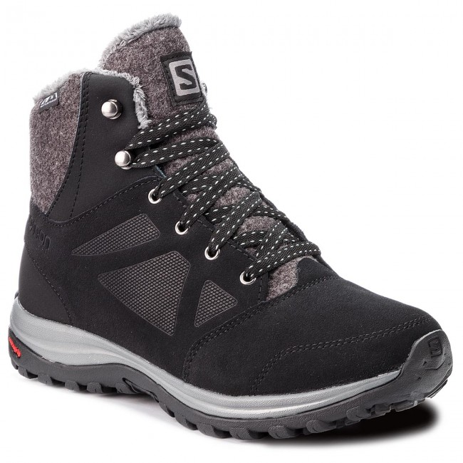 Trekkingschuhe SALOMON                                                      Ellipse Freeze Cs Wp 406132 21 V0 schwarz/Phantom/Beach Glass 949a4c